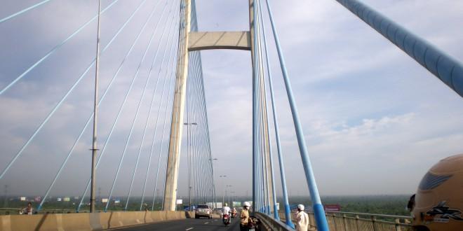 Ảnh công trình cầu Mỹ Thuận