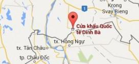 Xây dựng đường Đ43 khu kinh tế cửa khẩu Dinh Bà giai đoạn 2